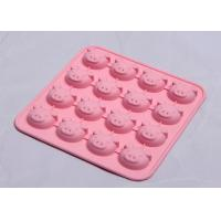 Buy cheap Pig Shape Silicone Baking Tins / Tray Odorless High Temp Resistant Non - Toxic from wholesalers