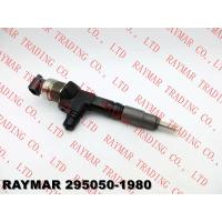 Buy cheap DENSO Common rail fuel injector 295050-1980 for KUBOTA V3307 1J770-53050, 1J770-53051, 1J77053050, 1J77053051 from wholesalers
