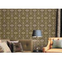 Buy cheap European Damask Printing Washable Vinyl Wallpaper Water Resistant Wallpaper 0.53*9.5M product