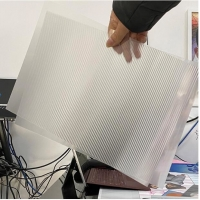 Buy cheap plastic raw material 70LPI PET 0.9MM 60X80CM for 3d lenticular printing by injekt print and UV offset print product