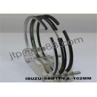 Buy cheap Isuzu piston ring 6BD1 oil ring 5mm all engine repair parts on sale from wholesalers
