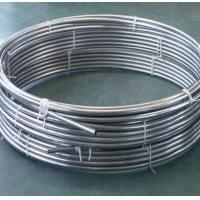 Buy cheap Welded Round Stainless Steel Tubing Coil 200 - 1000mm For Beer Drinks Evaporator from wholesalers