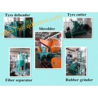 Buy cheap Factory Price Used Tire Shredder Machine/Waste Tyre Shredder Machine Price from wholesalers