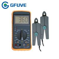 Buy cheap ELECTRICAL DOUBLE CLAMP PORTABLE DIGITAL PHASE ANGLE METER WITH 10A CURRENT CLAMP from wholesalers