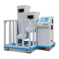 Buy cheap Mobile Phone Drop Weight Impact Testing Machine , Two Zones Lab Drop Test Equipment from wholesalers