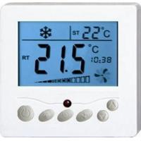 Buy cheap Flush Mounted Underfloor Heating Programmable Thermostat Digital Fan Coil Thermostat from wholesalers