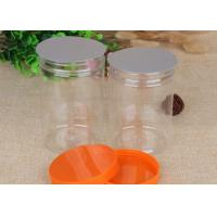 Buy cheap Damp - Proof Clear Pet Jars Cylinder Packaging Tube 760ml Hot Foil Stamping from wholesalers