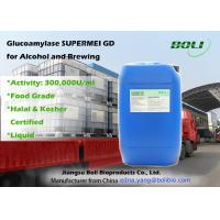 Buy cheap Glucoamylase For Saccharification , Liquid Glucoamylase Hydrolytic Enzymes For Alcohol And Brewing from wholesalers