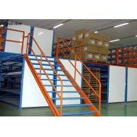 Buy cheap High Strength Mezzanine Floor Construction , Warehouse Mezzanine Floor from wholesalers