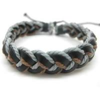 Buy cheap High Tenacity 30m cord string 1mm thick macrame Braided Rope Bracelet, cuff bracelets from wholesalers