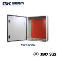 Buy cheap Galvanized Plate Indoor Distribution Box Wall Mount Electric Epoxy Polyester Coating from wholesalers