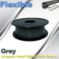 Buy cheap Rapid Prototyping 1.75 / 3.00mm Flexible 3d Printer Filament  0.8KG / Roll from wholesalers