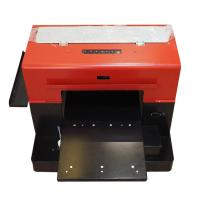 Buy cheap Full Automatic A4 Uv Led Flatbed Printer , A3 Digital Uv Flatbed Printer from wholesalers