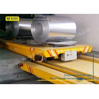 Buy cheap Towed Cable Powered Coil Transfer Trolley Customized Color For Metal Sheet from wholesalers
