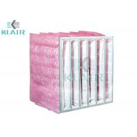 Buy cheap Particulate Dust Filter Bag , 1 Micron Filter Bag In Ahu Air Handling Unit from wholesalers