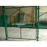 Buy cheap Custom Warehouse Wire Mesh Fence / Railing 2100mm X 2400mm Panel Size from wholesalers