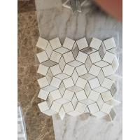 Buy cheap CALACATTA GOLD MARBLE POLISHED & BEVELED BRICK MOSAIC TILE CALACATTA GOLD MARBLE MOSAIC  WALL & FLOOR TILE from wholesalers