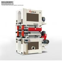 Buy cheap 2-head 2-side calibrating sander, BSG2606RC from wholesalers