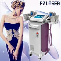 Buy cheap Durable 5 In 1 Slimming Machine Vacuum Roller + Cryo + Lipolaser + RF+ Cavitation from wholesalers