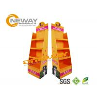Buy cheap Advertising Exhibition Cardboard Shop Display Stands Booth Large from wholesalers