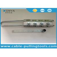 Buy cheap 11-15 MM Fiber Optic Cable Stripping Tool Bolted Type OPGW Cable Grip from wholesalers