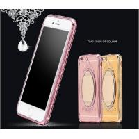 Buy cheap Soft TPU Crystal Diamond Case For iphone with Mirror from wholesalers