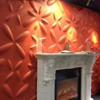 Buy cheap PVC 3D Wall Panels, Made of Plant Fiber from wholesalers