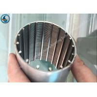 Buy cheap Full Circle V Shape Wire Mesh Tube Stainless Steel Filter Element Non - Clogging from wholesalers
