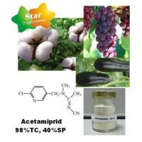 Buy cheap Insecticide--Acetamiprid 98%TC, 40%SP from wholesalers