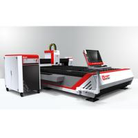 Buy cheap CNC Open Fiber Laser Cutting Machine for Metal Sheets GF-1530 from wholesalers