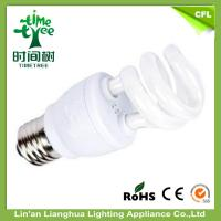 Buy cheap Half Spiral Energy Saving Light Bulbs 20W 6500K Daylight 3000H Halo Lighting Fixture from wholesalers