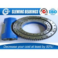 Buy cheap Electric Solar Tracker Slewing Drives , Worm Drive Gear With Rubber Sealed from wholesalers