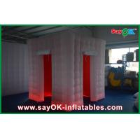 Buy cheap Square Inflatable Photo Booth Kiosk Frames 2.4 x 2.4 x 2.5m for Wedding from wholesalers