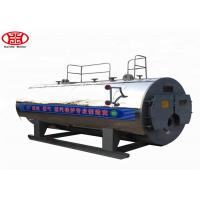 Buy cheap WNS 1 Ton Oil Gas Fired Steam Boiler Dairy Plant Steam Generation Use from wholesalers