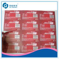 Buy cheap Custom Printed Product Labels , Brand Protection Tamper Proof Stickers from wholesalers