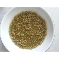 Buy cheap Canned Sweet Peas Nutrition In Water , Canned Split Peas Dark Green Color product
