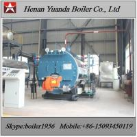Buy cheap Industrial Fire tube 150 PSI 100bhhp 200 bhp LPG Fired Steam Boiler from wholesalers