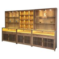 Buy cheap Chinese Style Jade Jewelry Display Showcase Modern LMQ-055 With LED Blub from wholesalers