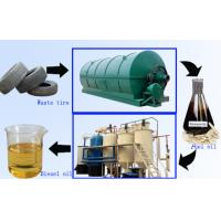 Buy cheap Tire pyrolysis oil refining machine from wholesalers