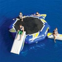 Buy cheap 0.9mm PVC Tarpaulin Round Inflatable Water Sports / Inflatable Aqua Jump Eclipse Water Park from wholesalers