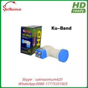 China KU Band LNB Quad 0.1dB Universal Linear 4 Port HD Ready Digital Satellite LNBF on sale