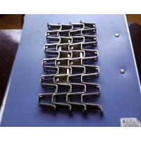 Welded / Lock  Edge Stainless Steel Conveyor Chain BeltLarge Open Area Easily Washed