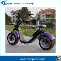 Buy cheap city coco electric motorcycle 60v1000w hot sale harley scooter driving speed 40km/h from wholesalers