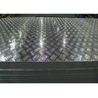 China Shiny Dull Anti-slip aluminum stair treads plate 3003 5052 6061 hard soft aluminum checker plates for truck bed liners on sale