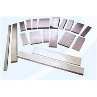 Buy cheap EN 321 stainless steel flat bar standard sizes GB / T with 0.2mm - 180mm thickness from wholesalers