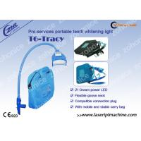 Buy cheap Blue Cool Light Teeth Whitening Machine For Yellow / Black / Brown / Coffee Teeth Removal from wholesalers