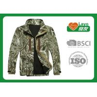 Buy cheap Custom Softshell Outdoor Hunting Clothing Winter With Inner Sleeve from wholesalers