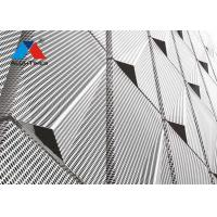 Buy cheap Contemporary Decorative Metal Screen For Office Building Wall Cladding from wholesalers