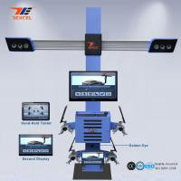 Buy cheap Tablet Control Portable Wheel Alignment Machine , 4 Wheel Four Cameras 3d Wheel Aligner from wholesalers
