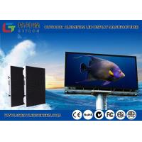 Buy cheap Light Weight Energy Saving Digital Billboard Outdoor SMD LED Display Board For Fixed Application from wholesalers